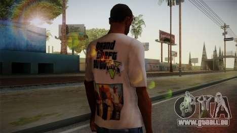 GTA 5 MFT T-Shirt pour GTA San Andreas deuxième écran