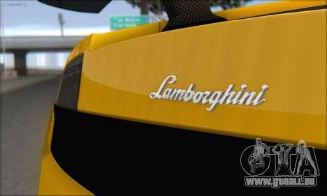 Lamborghini Gallardo LP570 Superleggera für GTA San Andreas Räder