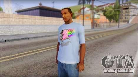 Nyan Cat FTW T-Shirt pour GTA San Andreas