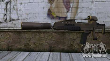 XM8 Assault Dust für GTA San Andreas
