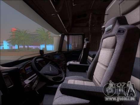 Iveco Stralis HiWay 560 E6 8x4 für GTA San Andreas Innen
