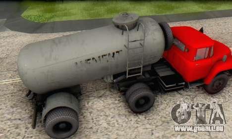 Trailer cement carrier TTC 26 für GTA San Andreas rechten Ansicht