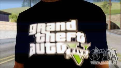 GTA 5 T-Shirt für GTA San Andreas dritten Screenshot