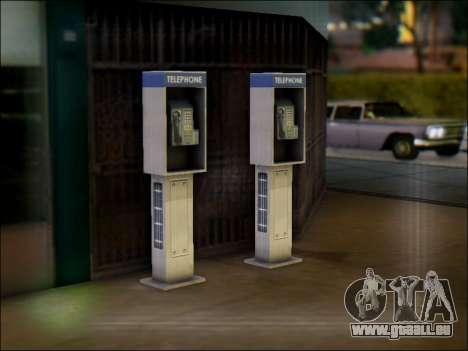 Rue de téléphone pour GTA San Andreas deuxième écran