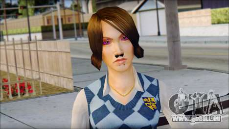 Pinky from Bully Scholarship Edition pour GTA San Andreas