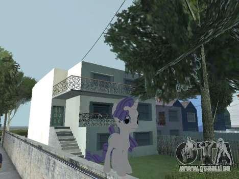 Rarity pour GTA San Andreas cinquième écran