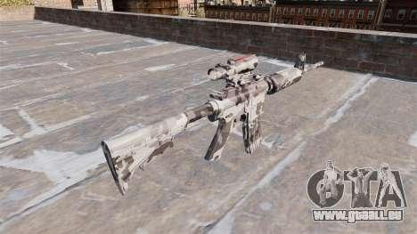 Automatique carabine MA Arctique Camo pour GTA 4 secondes d'écran