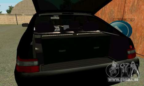 VAZ 21123 Turbo für GTA San Andreas Unteransicht