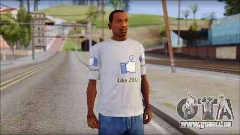 The Likersable T-Shirt pour GTA San Andreas