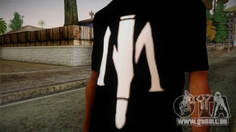 Shirt Madafaka pour GTA San Andreas troisième écran