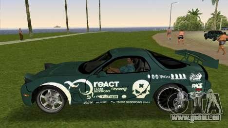 Mazda RX-7 Tuning für GTA Vice City rechten Ansicht