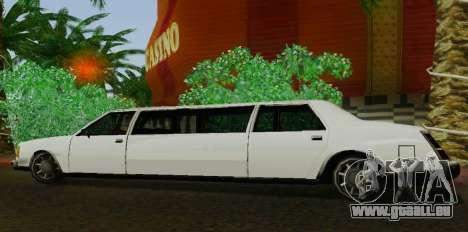 Washington Limousine für GTA San Andreas linke Ansicht