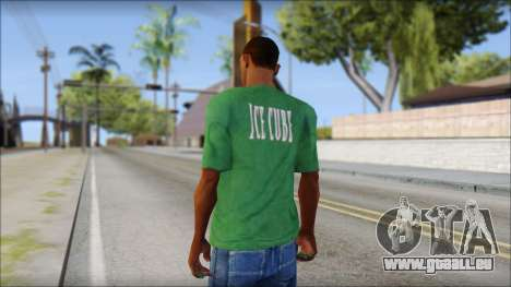 Ice Cube T-Shirt für GTA San Andreas zweiten Screenshot