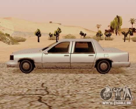 Stretch-Limousine für GTA San Andreas linke Ansicht