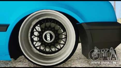 Volkswagen MK3 deLidoLu Edit pour GTA San Andreas vue de droite
