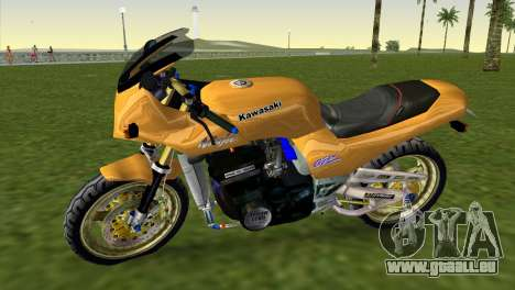 Kawasaki GPZ900R Ninja Tuned pour GTA Vice City