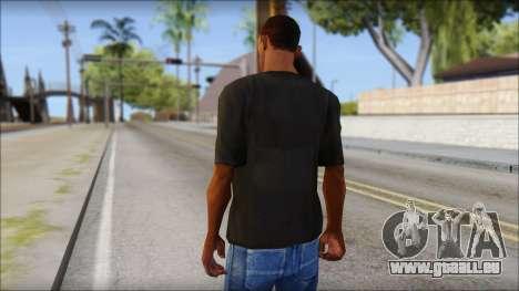 Just Do It NIKE Shirt für GTA San Andreas zweiten Screenshot