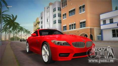BMW Z4 sDrive35is für GTA Vice City