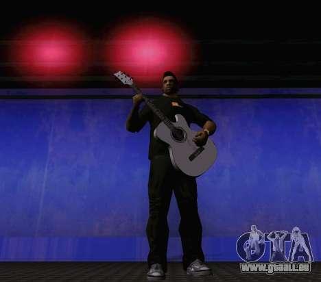 Les chansons de Viktor Tsoi guitare pour GTA San Andreas cinquième écran