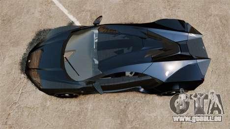 Lykan HyperSport Black für GTA 4 rechte Ansicht