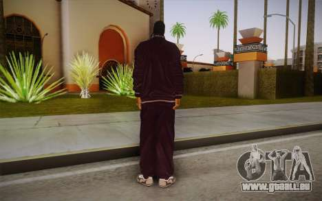 Snoop Dogg Skin für GTA San Andreas zweiten Screenshot