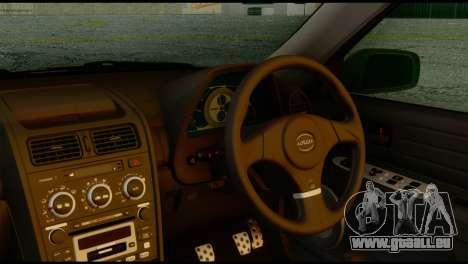 Toyota Altezza für GTA San Andreas rechten Ansicht