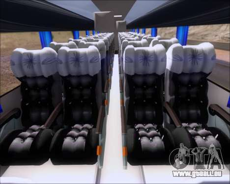 Busscar Vissta Buss LO Mercedes Benz 0-500RS für GTA San Andreas Rückansicht