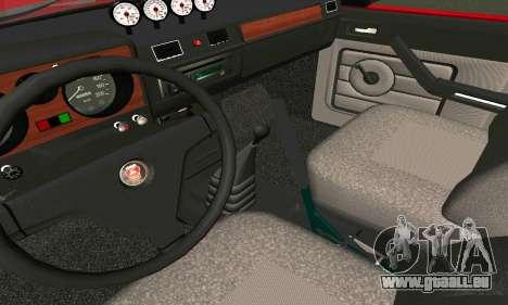 GAS 24 für GTA San Andreas Rückansicht