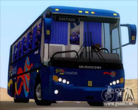 Busscar El Buss 340 Bio Linatal pour GTA San Andreas vue de dessus