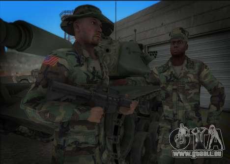 90s California National Guard für GTA San Andreas