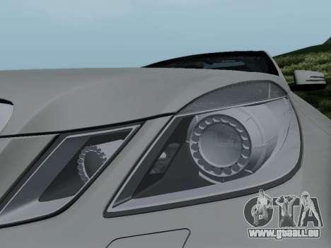 Mercedes-Benz E63 AMG für GTA San Andreas obere Ansicht