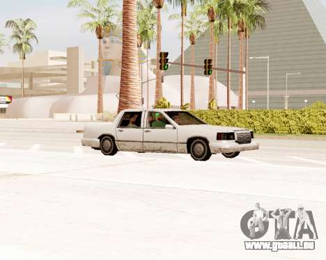 Stretch-Limousine für GTA San Andreas rechten Ansicht