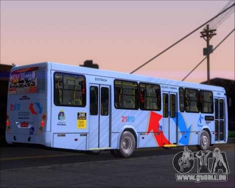 Marcopolo Torino G7 2007 - Volksbus 17-230 EOD für GTA San Andreas zurück linke Ansicht