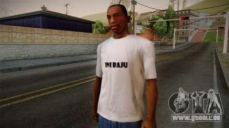Yao Ming T-Shirt pour GTA San Andreas