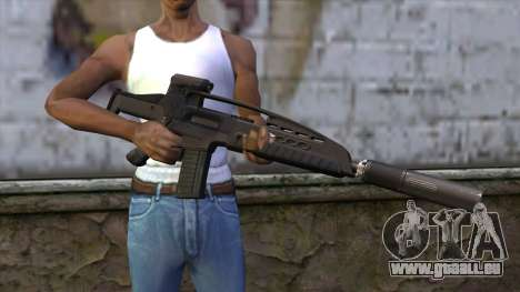 XM8 Assault Black für GTA San Andreas dritten Screenshot