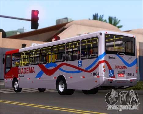 Comil Svelto 2008 Volksbus 17-2 Benfica Diadema für GTA San Andreas rechten Ansicht