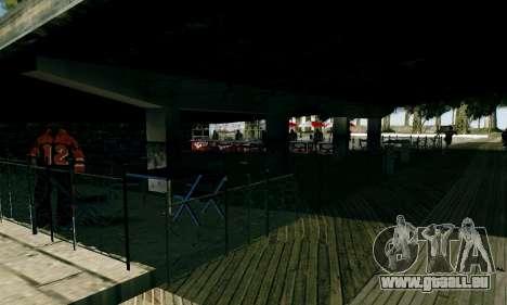 New Santa Maria Beach v1 pour GTA San Andreas cinquième écran