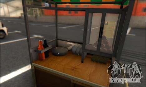 Gerobak Bakso pour GTA San Andreas sur la vue arrière gauche