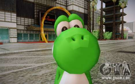 Yoshi from Super Mario für GTA San Andreas dritten Screenshot