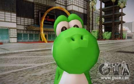 Yoshi from Super Mario für GTA San Andreas dritten Screenshot