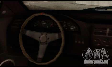 Ubermacht Zion XS 1.0 für GTA San Andreas zurück linke Ansicht