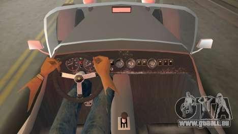 Caterham Super Seven pour GTA Vice City sur la vue arrière gauche