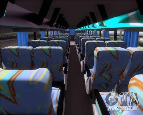 Busscar Jum Buss 400 Volvo B10R Pullman Del Sur pour GTA San Andreas vue de dessus