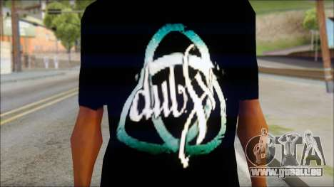 Dub Fx Fan T-Shirt v2 für GTA San Andreas dritten Screenshot