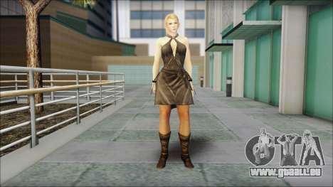 Sarah from Dead or Alive 5 v3 pour GTA San Andreas