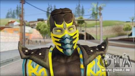 Scorpion Skin v2 pour GTA San Andreas troisième écran