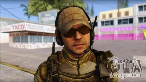 Grinch from Modern Warfare 3 pour GTA San Andreas troisième écran