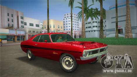 Dodge Dart Demon 340 1971 pour GTA Vice City