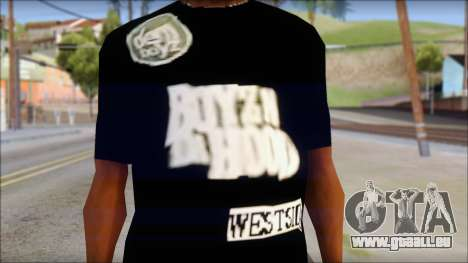 Dem Boyz T-Shirt pour GTA San Andreas troisième écran