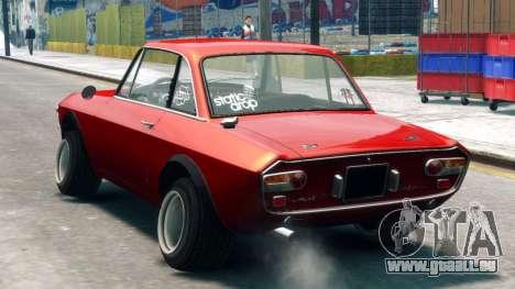 Lancia Fulvia HF für GTA 4 linke Ansicht